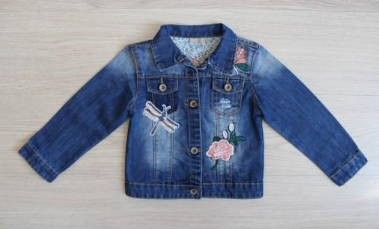 Джинсовая куртка ДЛ-1444