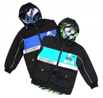 Двухсторонняя куртка МО-2140